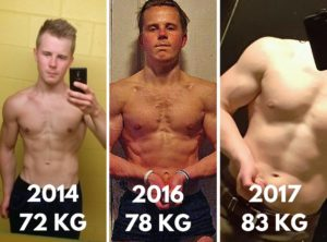 How do i lose fat and gain muscle on keto