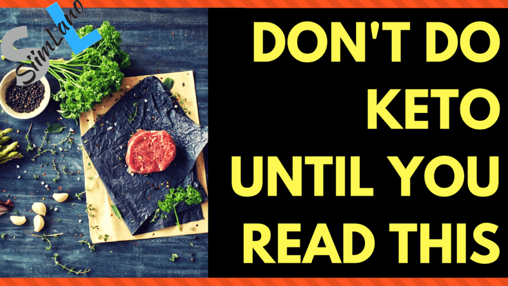 dangers of a keto diet