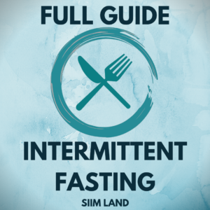 FULL GUIDE to intermittent fasting free book